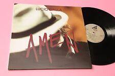 LUCIO DALLA LP AMEN ORIGINALE 1992 EX+ ATTENTI AL LUPO C'ERA UN RAGAZZO ....