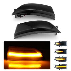 For 15-19 Ford Everest Ranger T6 Raptor Dynamic LED Side Mirror Signal Light 2pc