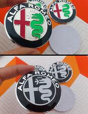 4x Fregio new nuovo Logo 2015 Alfa Romeo sticker coprimozzo 50mm MiTo, 147, 156