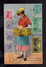 1931 Monte Carlo Monaco Cote dAzur Cover Postcard to Czechoslovakia Mimosa Vendo