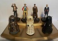 Dr Who, Doctor & Daleks, Gold Display Board, Extremely Hard to get. Brand New