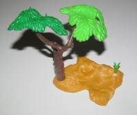 Playmobil Base Décor Végétation avec Arbres Paille Foin NEW