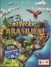 EDEKA Entdecke Brasilien aus Liste 20 Karten/Sticker aussuchen