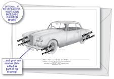 Alvis TD21 Series 1 1960 greetings card