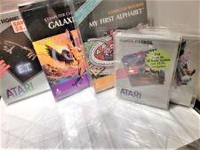 Atari Computer 400 800 1200 Video Game Clear Case Cases Sleeve Box Protector CIB