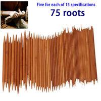 11pcs Nadelspiel Set Bambus Socken Nadelspiele in Größe 2.0-5.0mm