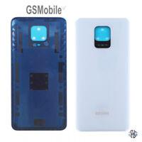 Tapa Trasera Bateria Battery Back Cover Adhesivo Xiaomi Redmi Note 9S Blanco