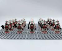 20x Shock Trooper Clone Troopers Mini Figures (LEGO STAR WARS Compatible)
