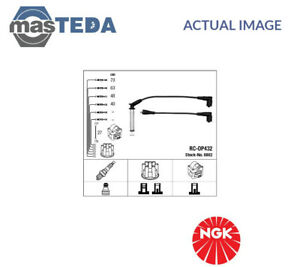 NGK IGNITION CABLE SET LEADS KIT 0802 I NEW OE REPLACEMENT