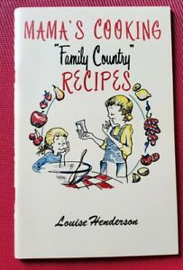 1971 MAMA'S COOKING Silver Dollar City Souvenir COOKBOOK Family Country Recipes