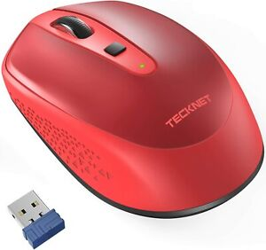 Portable 2.4G Wireless Optical Mouse USB Nano Receiver Laptop Adjustable DPI