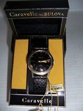 Vintage NOS Caravelle by Bulova N2 Water Resistant 17 Jewels Men's Wrist Watch