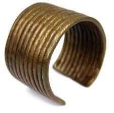 Art Africain - Ancien Bijoux Bracelet Ethnique en Bronze Akan - Baoulé - 7,5 Cms