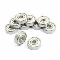 rodamiento de bolas 636Z 10 piezas 6 x 22 x 7 mm doble Metal escudos zanja