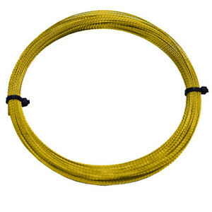 WINDSCREEN GLASS CUTTING OUT REMOVAL STRONG WIRE GOLD BRAIDED 0.8mm x 22 Metres