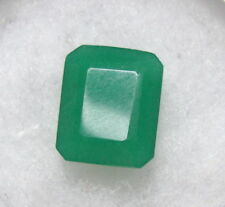 RECTANGLE SHAPE 12CT NATURAL EMARALD GEM STONE FROM BRAZIL VERY UNIQUE STONE