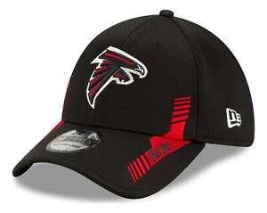 New Era - NFL Atlanta Falcons 2021 Sideline Home 39Thirty Stretch Cap - Schwarz
