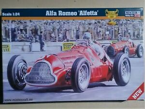 1/24 Mister Craft (Ex Merit) Alfa Romeo Alfetta (France G.P. Winner 1950)