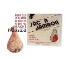 SAC A JAMBON 65 X 85 CM pour JAMBON + DE 7 KG