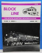 Block Line NRHS 1987 Jan NH DL&W Scranton Division