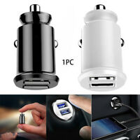 Socket Fast Charging Plug Dual USB Port Car Mini Charger Charger Adapter