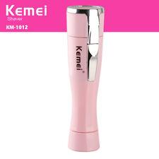 Kemei KM-1012Portable Lady Personal Shaver Mini Epilator Hair Removal Razor