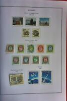 17X NORWAY STAMPS 1991 POSTHORN TYPES SET OF 9 ALSO EUROPA PAR & MORE USED