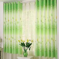 Luxury Lined Curtain Drapes Set Valance Blackout Scarf Window 1 Panel Tiffany US