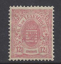 Luxembourg 1881 12-1/2c Rose, VF Mint OG, SCV $245