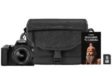 Cámara réflex Canon EOS 250D, CMOS 24.1 MP, 4K, DIGIC 8 EF-S 18-55 f/3.5-5.6 III