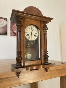 Junghans Wanduhr Pendel Antik Regulator 1860 1870 Aufziehbar Geräusche