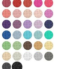 sinamay sample. Choose upto 5 colours from the chart