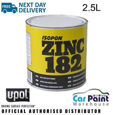 U-POL / DAVIDS ISOPON ZINC 182 Rust Inhibiting Primer 1k 2.5L Z182/2.5