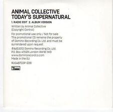 (EA669) Animal Collective, Today's Supernatural - 2012 DJ CD