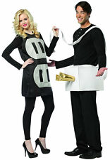 Plug & Socket Couples Funny Comic Dress Up Halloween Adult Costume 2 COSTUMES