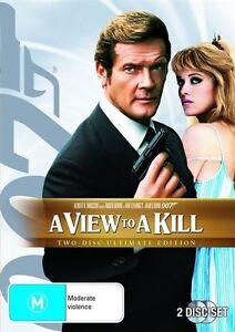"Like New ""A View To A Kill"" (DVD, 2010, 2-Disc Set) Region 4"