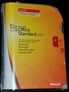 Microsoft Office Standard 2007 New Box unopened,English with Product Key.