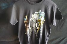 Doctor Who 3 Doctors Black mens size Small Licensed T-shirt
