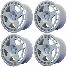 4 x Fifteen52 TurboMac Rally White Alloy Wheels - 17x7.5 Inch | 4x108 | ET42