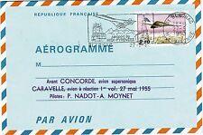 AÉROGRAMME-CONCORDE-SUPERSONIQUE-CARAVELLE-AVION À RÉACTION-NADOT-MOYNET-1980