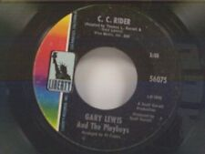 "GARY LEWIS & PLAYBOYS ""C C RIDER / MAIN STREET"" 45"