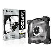 120mm Corsair Quiet LED Fan AF120-LED, White, Dual Pack