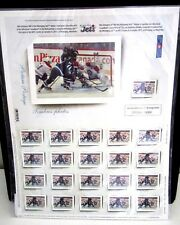 WINNIPEG Jets NHL Hockey Limited Edition 2011 Stamp Set Canada-$3.99 ship to US
