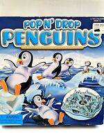 2008 Pop 'N Drop Penguins Game - For Ages 4 and Up, 2 to 4 Players - NEW