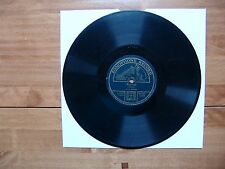 "10"" 78 ZONOPHONE RECORD 2126 Paganini ""Witches' Dance"" /Köhler ""Papillon"" Amadio"