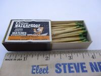 coghlan's wooden safety matches made in australia box of vtg