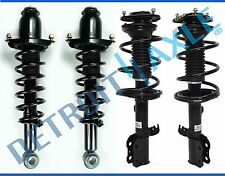 Set of 4 New Complete Front and Rear Left Right Quick Struts for Toyota Corolla