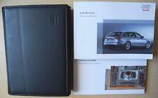 AUDI A6 ESTATE HANDBOOK OWNERS MANUAL NAVI 2005-2008 PRE-FACELIFT CARS REF896