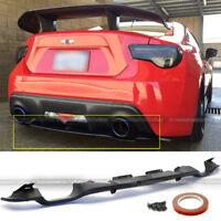 Fit 13-16 FRS Subaru BRZ OE Style PP Plastic Rear Bumper Diffuser Lip Spoiler