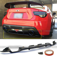Fit 12-16 FRS Subaru BRZ OE Style PP Plastic Rear Bumper Diffuser Lip Spoiler